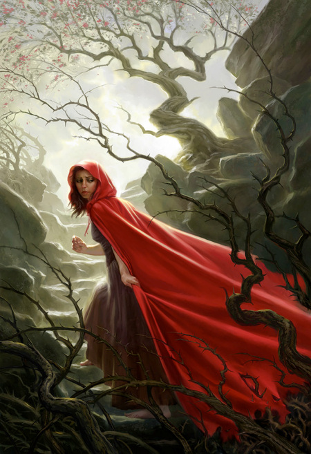 Your idea women in hoods paintings simply